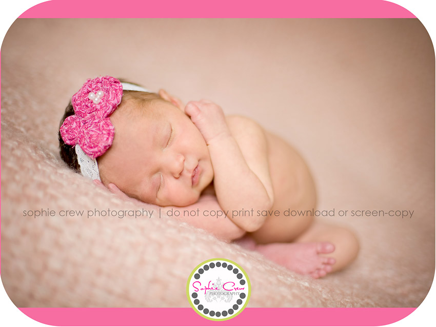 Chula Vista Newborn Photo