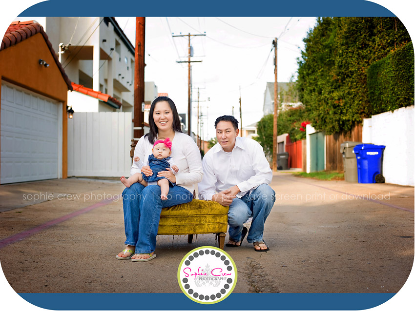 San Diego Urban Family Photographer