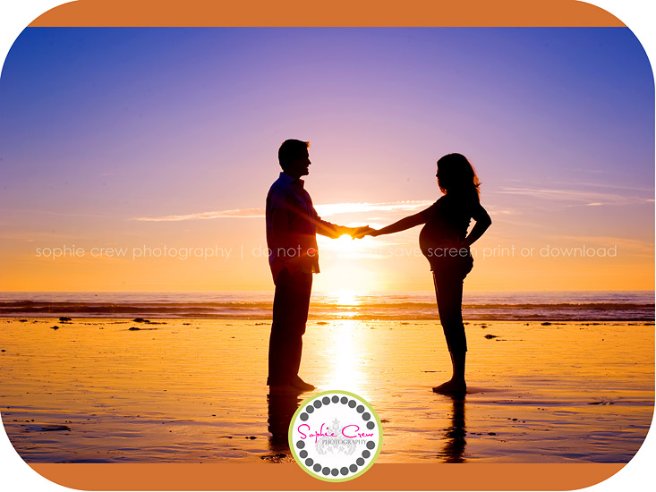 San Diego Pacific Beach Maternity Photographer Pregnancy Photo Shoot