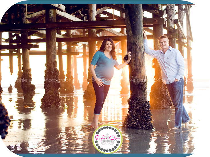 Sunset Beach Photographer Maternity Newborn Pregnancy Couple Family
