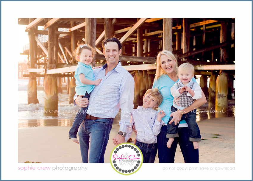 San Diego Vacation Beach Photographer Family