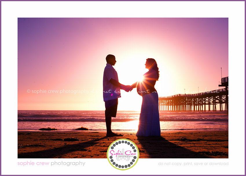 San Diego Silhouette sunset beach family maternity newborn baby child pregnancy vacation photographer san diego coronado 4s ranch san elijo hills la jolla