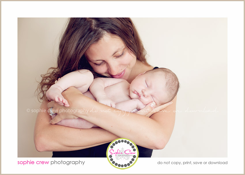 San Diego Newborn Mother Photographer