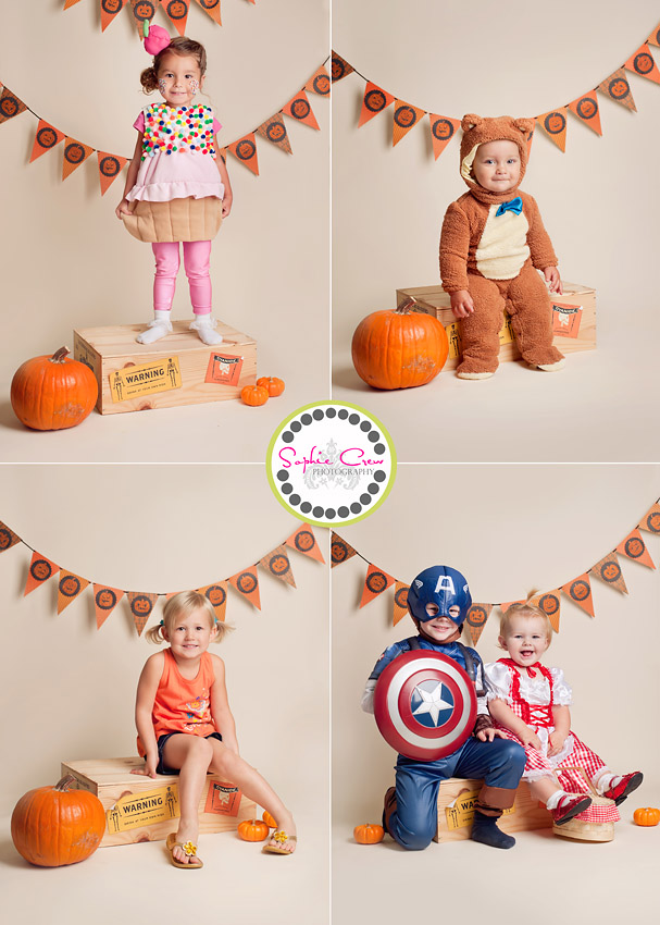 san diego baby and child halloween photo session 2011 mini photo portraits