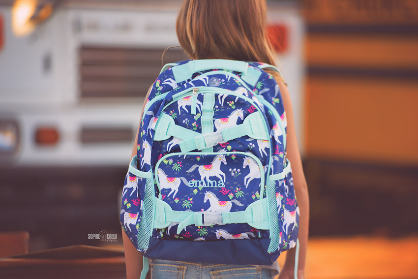 Pottery Barn Kids horse backpack