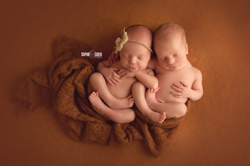 Southern California newborn twin photographer