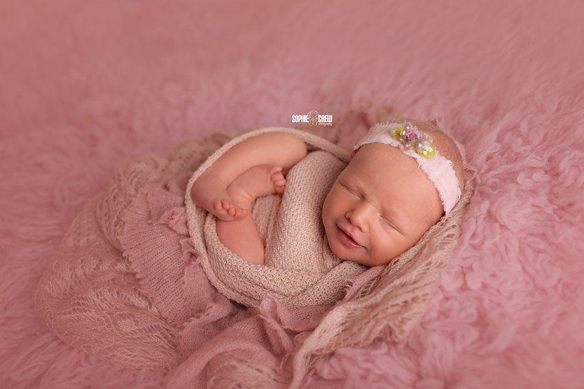 Newborn photography in studio San Diego