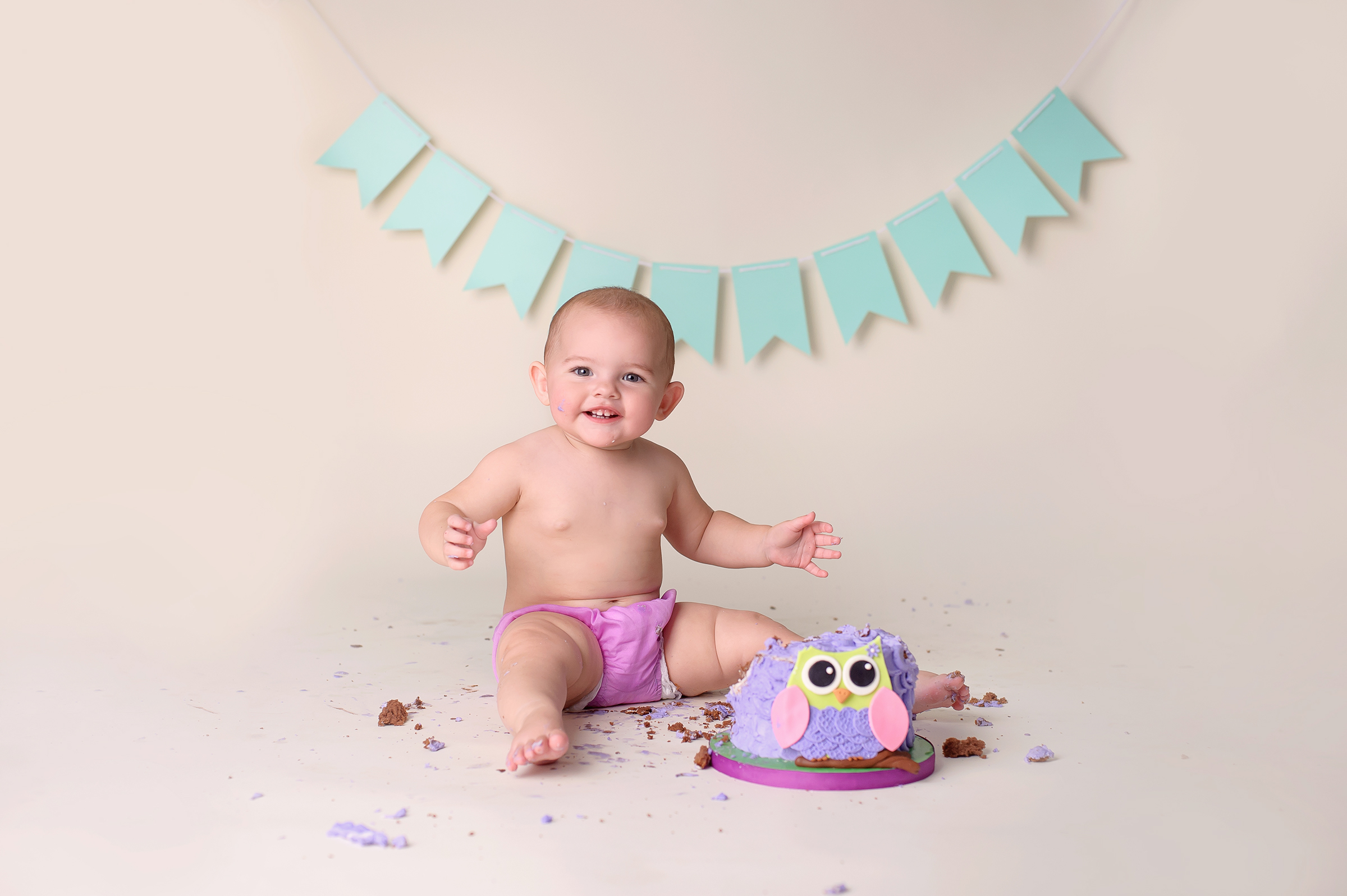 Cake Smash Photography Studio San Diego, CA