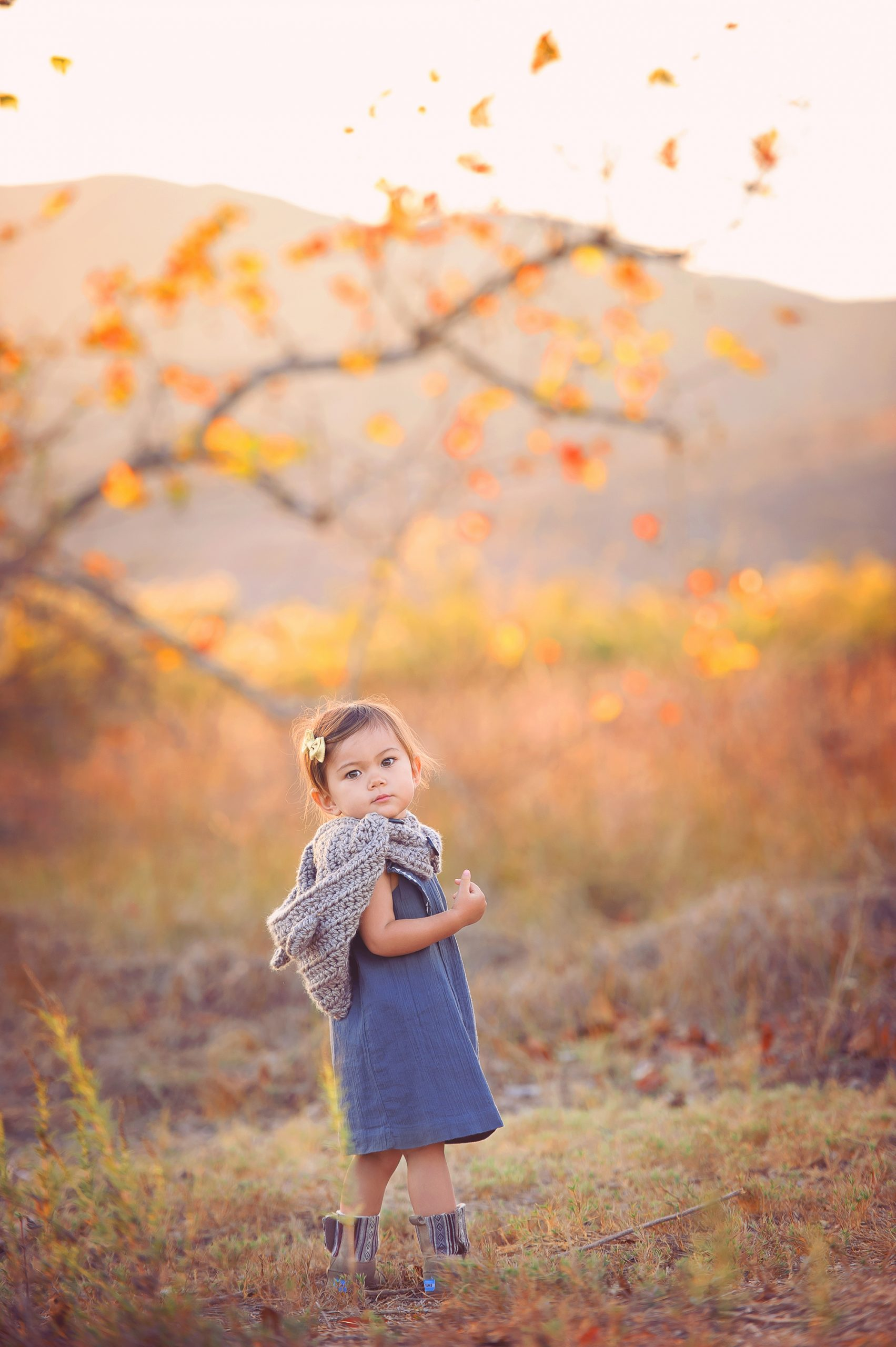 Nature location ideas for baby and family photography in San Diego, CA