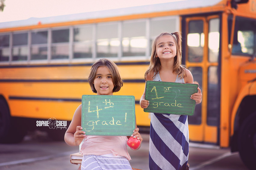 Mini session for back to school portraits