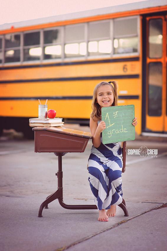 elementary school portraits san diego fun child