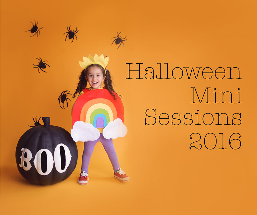 Halloween Mini Studio Sessions