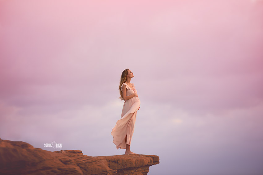 La Jolla Beach Maternity Photography