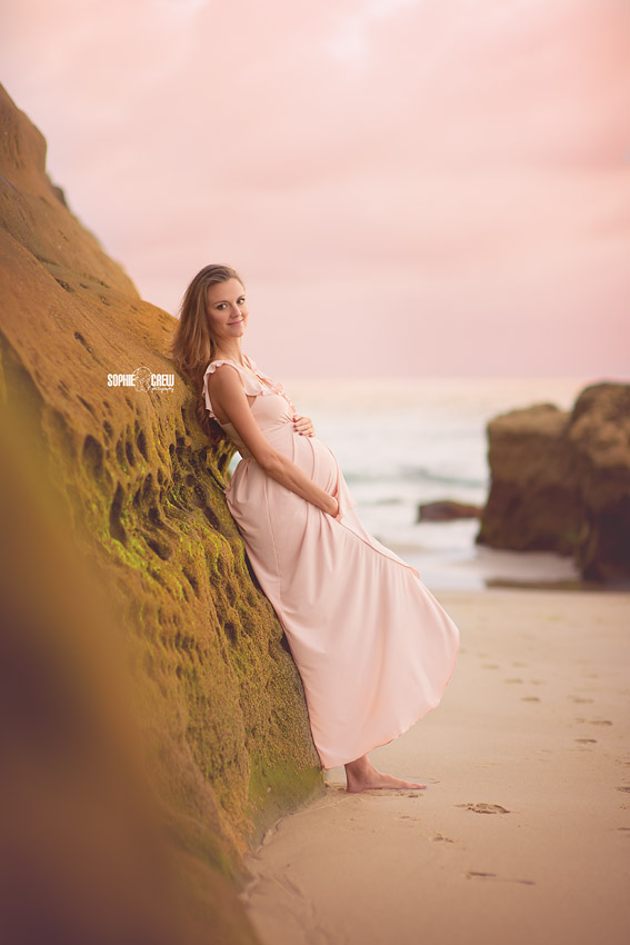 Southern California's maternity beach photographer