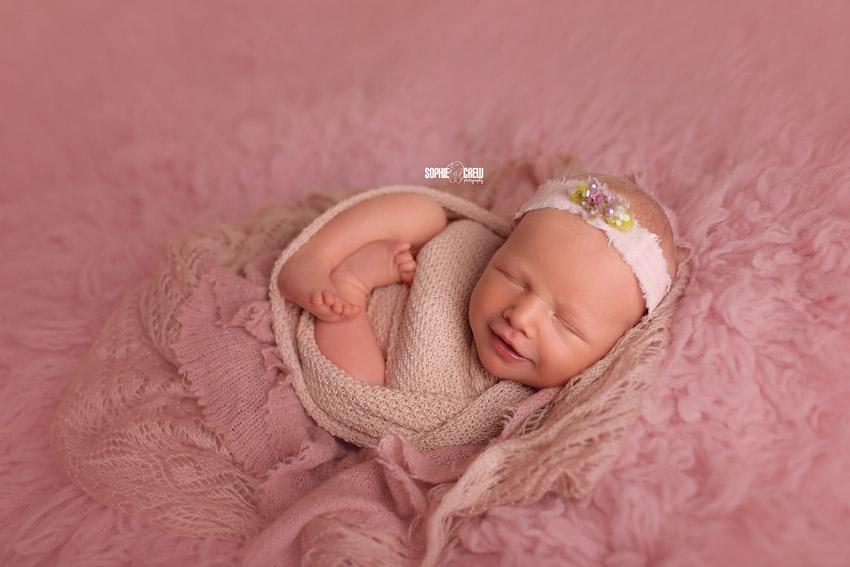 Newborn photography in studio San Diego