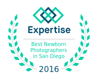 Badge for Best Newborn Photographers in San Diego 2016