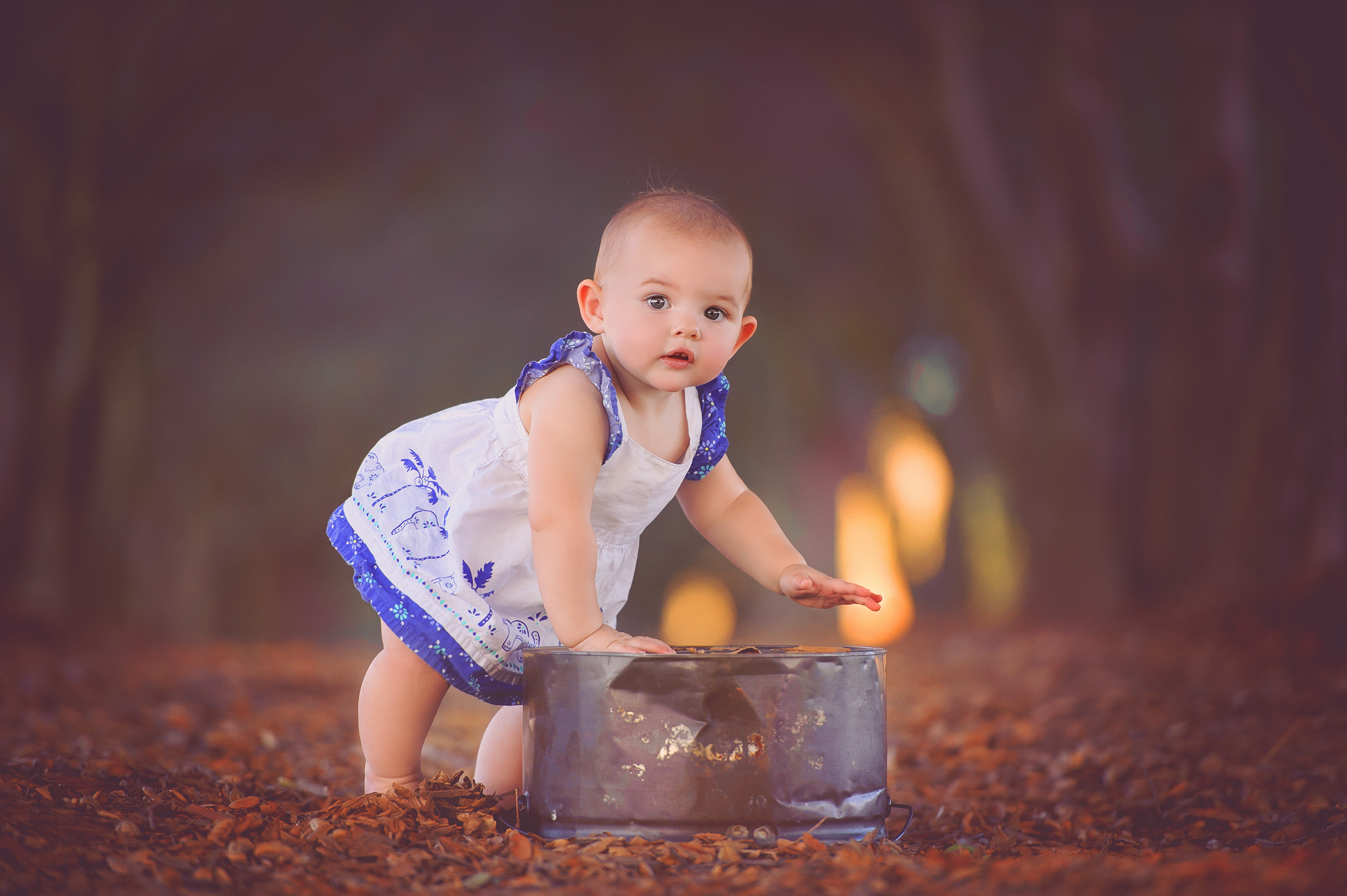 magical location for baby portraits for photographers in San Diego, CA